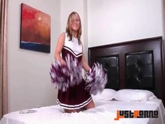 Jessie Coxxx Cheerleader Masturbation Thumb