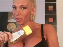 Krisztina Sereny stripping and oiling Thumb