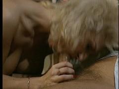 Blonde German red lingerie Thumb