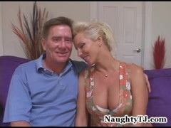 busty blonde gangbanged by delivery guys Thumb