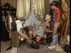 Classy German group sex Thumb