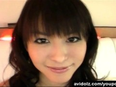 Innocent looking asian teen in gorgeous lingerie Thumb