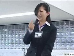 Japanese employees play strip games Thumb