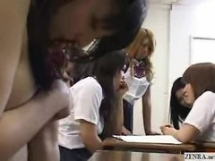 Naked in school Japanese students Thumb
