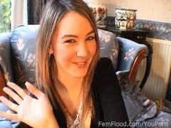 Katie Ks Squirting and Pulsating Orgasms Thumb