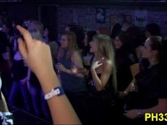 Group sex wild patty at night club Thumb
