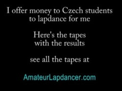 Petra vs. Tereza - lapdance and hot blow job Thumb