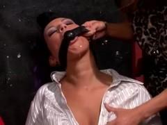 Glamorous lesdom slut gets nasty Thumb