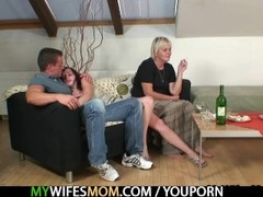 Horny granny seduces her son in law Thumb