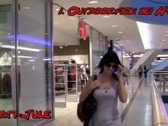 Brunette german girls fucks at H&M Thumb