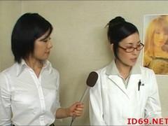 Japanese AV Model naked in public while bound Thumb