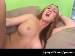 Busty Cheating MILF Thumb