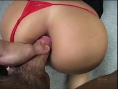 Tight asian ass fucked by huge dick Thumb