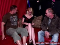 Blonde dutch slut in heels Thumb