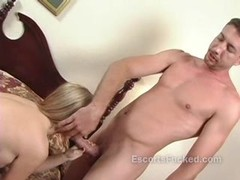 Blonde whore sucks a cock and does such a great job Thumb