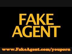 FakeAgent Beautiful Blonde Babe Thumb