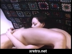 Retro porn movie with 80s style sex Thumb