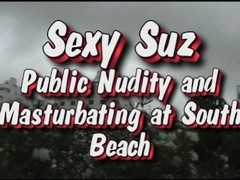 Sexy Suz Public Masturbation in South Beach Thumb