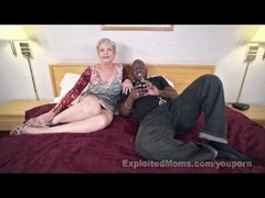 Mature Lady in Creampie Interracial Video Thumb