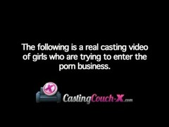 CastingCouch-X Sexy 20 Year Old College Student Casting For Porno To Pay Rent Thumb