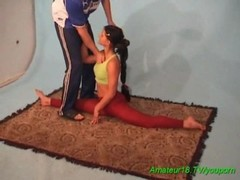 cute amateur gymnast Thumb