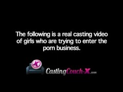 CastingCouch-X Wild Young 18 Year Old Amateur First Casting Porn Video Thumb