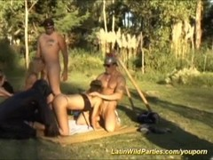 latin outdoor fuck orgy Thumb