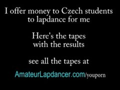 Czech college girl shakes booty and lapdance Thumb
