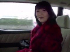 Red fur coat japanese milf Part1 Thumb