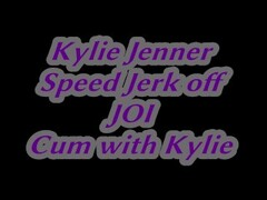 KYLIE JENNER CUM WITH YOU (SPEED JERK OFF) JOI ORGASM AUDIO Thumb
