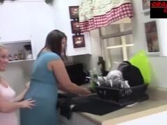 Lesbian fucking in the kitchen Thumb