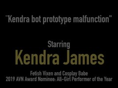 Sex Bot Kendra James Does Fuck Inspection With Abigail Mac! Thumb