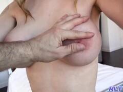MILFTRIP Big Tit MILFS Drip CUM On Younger Dick Compilation Thumb