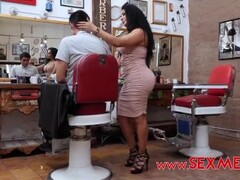 The perfect hair stylist milf - Gali diva Thumb