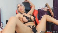 Grey Hair Babe Fuck Her Pussy Thumb