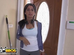 BANGBROS - Curvy Latin Maid Nadia Ali Givin' Up Dat Azz For Jmac Thumb