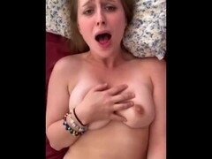 Pretty Blonde College Teen takes it like a good girl Thumb