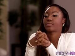 Interracial lesbian Thumb