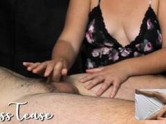 Multiple Edging Handjob + Prostate Massage + Cumshot Angle 1 - MissTease Thumb